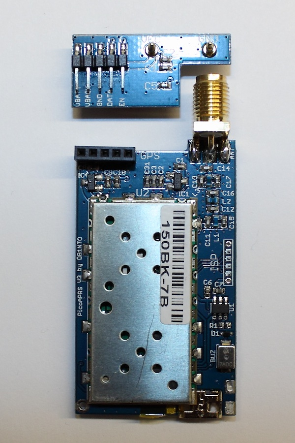 PicoAPRS - Word's smallest APRS Transceiver (Tracker) with