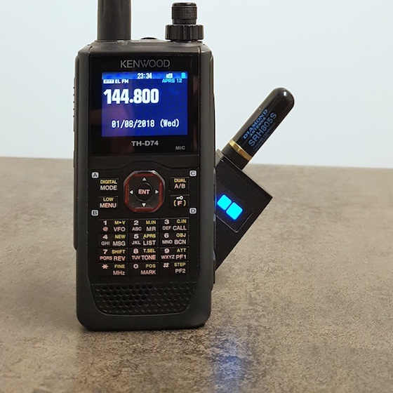 PicoAPRS - Word's smallest APRS Transceiver (Tracker) with KISS-TNC